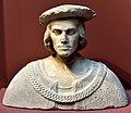 Bust of young Sicilian Nobleman, c. 1490, by Francesco Laurana (1420-1502). Nationalmuseum, Stockholm, Sweden.jpg
