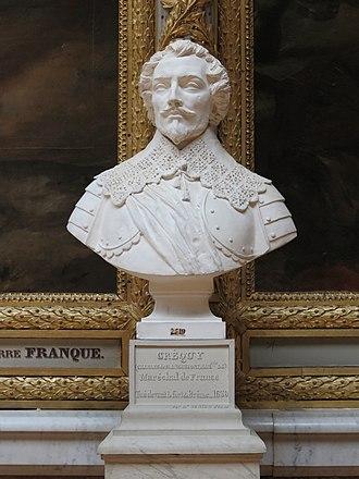 François de Créquy - François' grandfather, Charles I de Blanchefort (1578–1638) Marquis de Créquy and Marshall of France