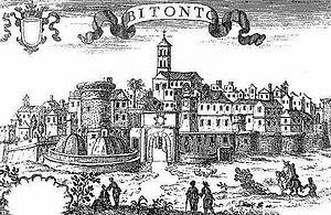 Bitonto - Old engraving of Bitonto