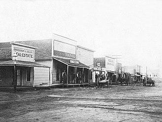 Byers, Texas - Byers, circa 1910