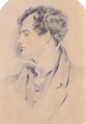 Byronic hero - Byron c. 1816, by Henry Harlow