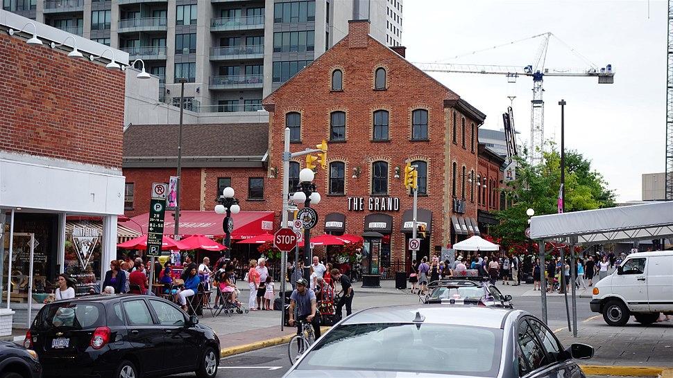 Byward District in Ottawa