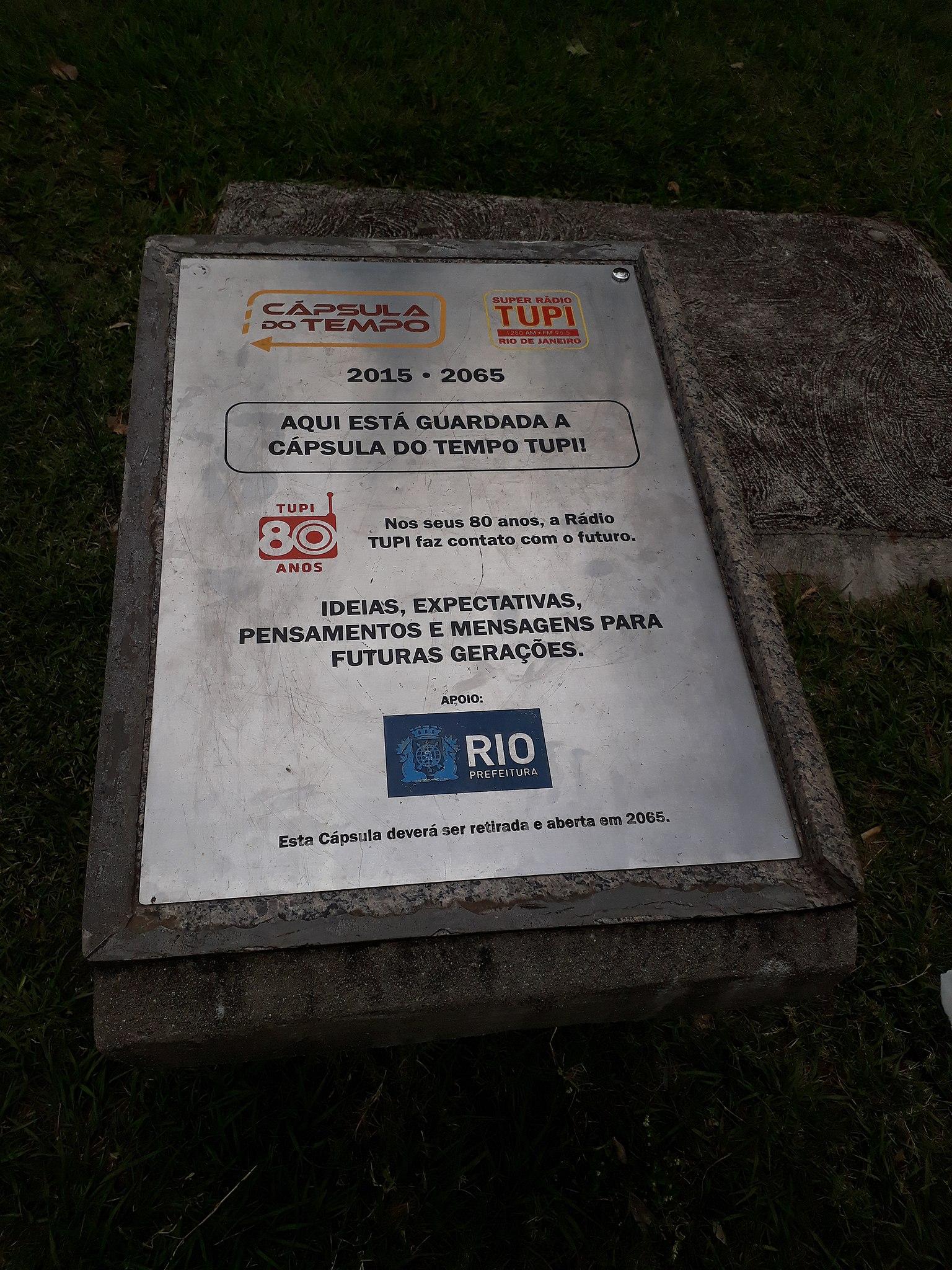 File:Cápsula do Tempo na Quinta da Boa Vista.jpg - Wikimedia Commons