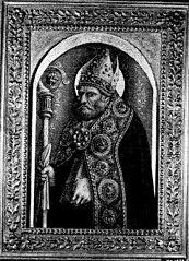 De heilige Ambrosius