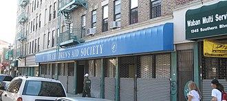 Southern Boulevard (Bronx) - Image: CAS Bx jeh