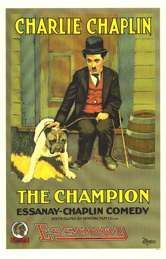 The Champion (1915 film) - Theatrical poster for The Champion (1915)