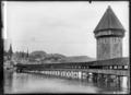 CH-NB - Luzern, Kapellbrücke mit Wasserturm, vue partielle - Collection Max van Berchem - EAD-6740.tif