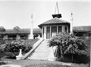 Garut - The sanatorium of Garut in the 1920s