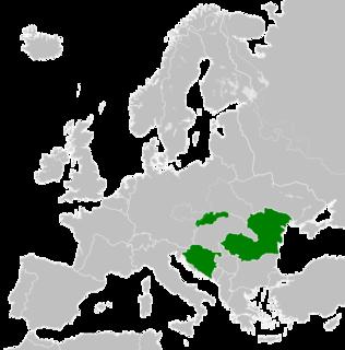 Croatian–Romanian–Slovak friendship proclamation