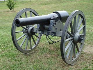 20-pounder Parrott rifle Type of Rifled cannon