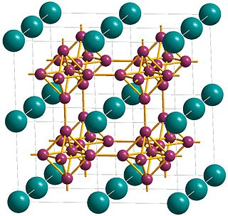 Lanthanum hexaboride chemical compound
