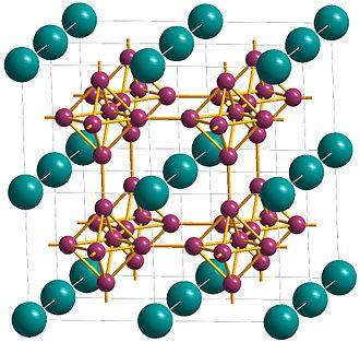 Calcium hexaboride - Image: Ca Hexaboride