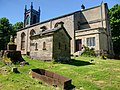 Cadder, Parish Church, watchhouse and iron mortsafe - geograph.org.uk - 1343317.jpg