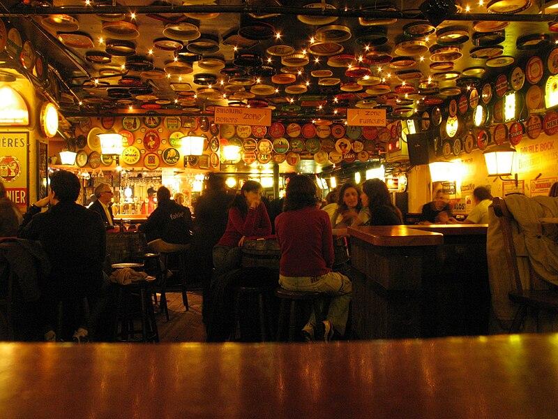 Cervejaria em Bruxelas, Bélgica