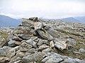 Cairn, E ridge of Fionn Bheinn - geograph.org.uk - 49612.jpg