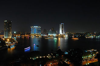 Greater Cairo - Cairo by night