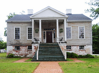 Anderson, South Carolina - The Caldwell-Johnson-Morris Cottage, built around 1851.