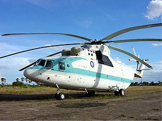 Royal Cambodian Air Force - A Cambodian Air Force Mil Mi-26T