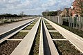 Cambridge-St.Ives Guided Busway at Histon - geograph.org.uk - 1747690.jpg