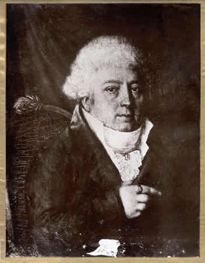 Les Lavandières - Portrait of britton author Jacques Cambry (1749-1807).