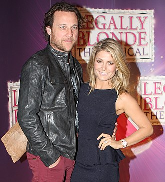 Natalie Bassingthwaighte - Bassingthwaighte with husband Cameron McGlinchey in October 2012.