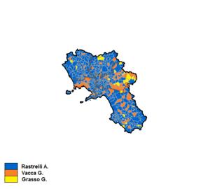 Campania regional election, 1995 - Image: Campania 1995 Coalizioni