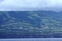 Candelaria vista do mar, Ponta Delgada, ilha de São Miguel, Açores.JPG