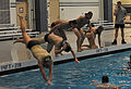 Candidates perform combat water fitness 131015-F-OG799-324.jpg