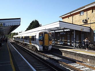 British Rail Class 375 - Image: Canterbury East railway station ED07, August 2013