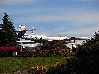 Centennial Park (Moncton) - Image: Canuck jet moncton