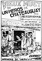 Caouette - Le vieux muet ou un Héros de Châteauguay, 1901 (page 1 crop).jpg