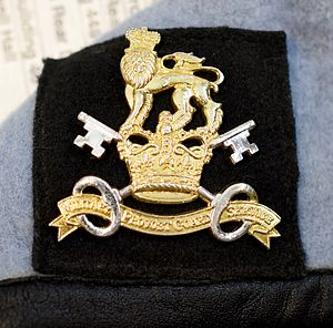 Military Provost Guard Service - Beret badge