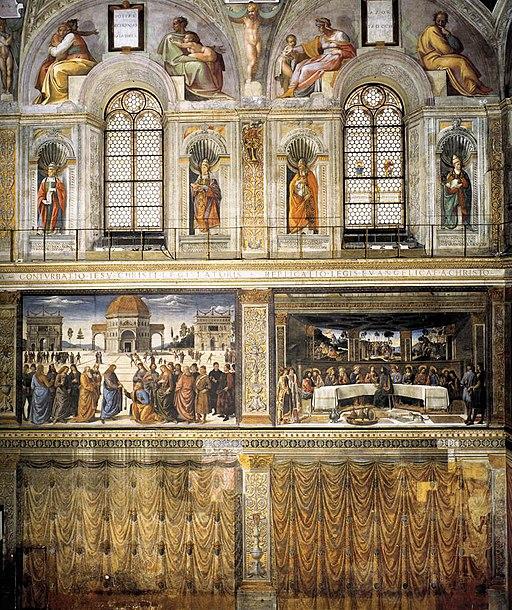 Cappella sistina, parete 01
