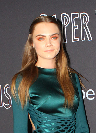 Paper Towns (film) - Image: Cara Delevingne (19406020156) (cropped)