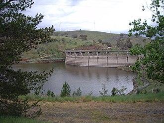 Belubula River - Image: Carcoar Dam