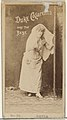 Card Number 22, Lotta, from the Actors and Actresses series (N145-6) issued by Duke Sons & Co. to promote Duke Cigarettes MET DP840334.jpg