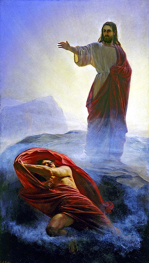 Carl Heinrich Bloch - Jesus Tempted