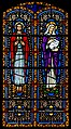 Carl Huneke's stained glass window - Sacred Heart of Jesus & St. Ann at Holy Cross Church, Linden, CA.jpg