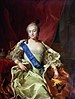 Carle Vanloo, Portrait de l'impératrice Élisabeth Petrovna (1760).   jpg