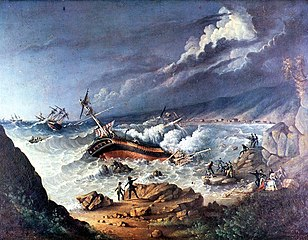 Risultati immagini per naufragio
