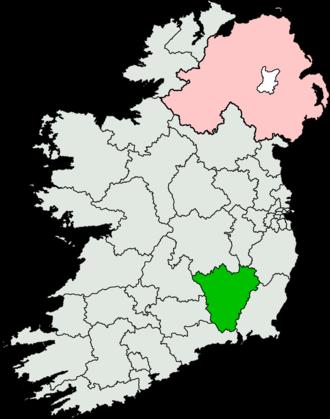 Carlow–Kilkenny (Dáil Éireann constituency) - Image: Carlow Kilkenny (Dáil Éireann constituency)