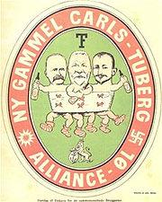 Carlsberg-Tuborg i Klods-Hans 1903