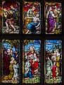 Carlton-leMoorland, St Mary's church, Stained glass window (24430080906).jpg