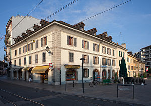 Carouge - Place de l'Octroi in Carouge