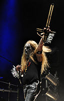 "Carpathian Forest, Roger ""Nattefrost"" Rasmussen at Party.San Metal Open Air 2013 03.jpg"