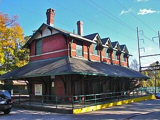 Carpenter station SEPTA Regional Rail station
