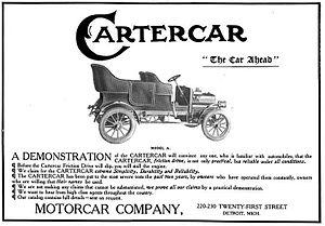 Cartercar - Motorcar Company of Detroit, Michigan - Cartercar - 1906