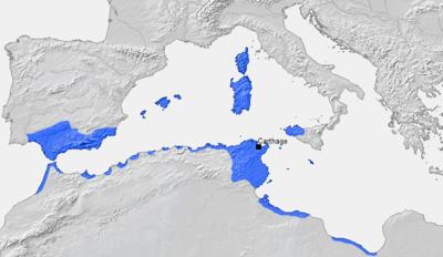 History Of Tunisia Wikipedia - Tunisia cities small scale map
