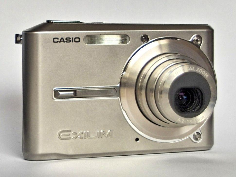 Casio EX-S600 front