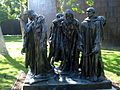 Cast of Burghers of Calais by Rodin at the Norton simon Museum.jpg